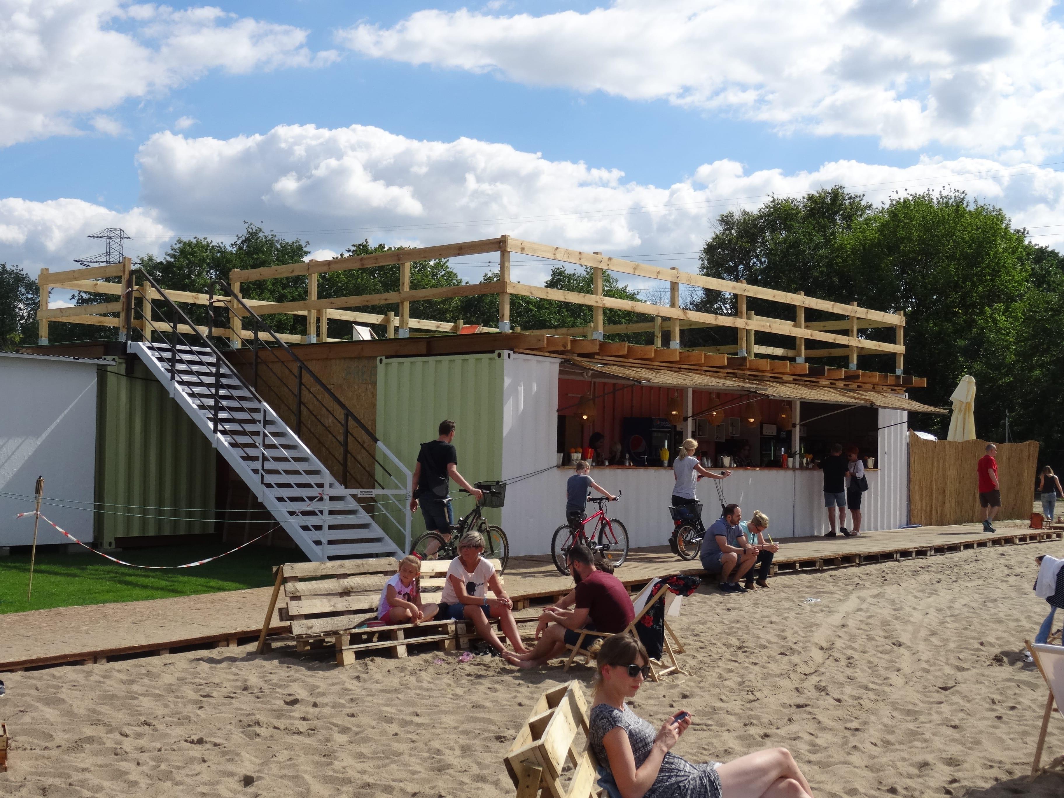 HotSpot Wrocław plaża miejska bar
