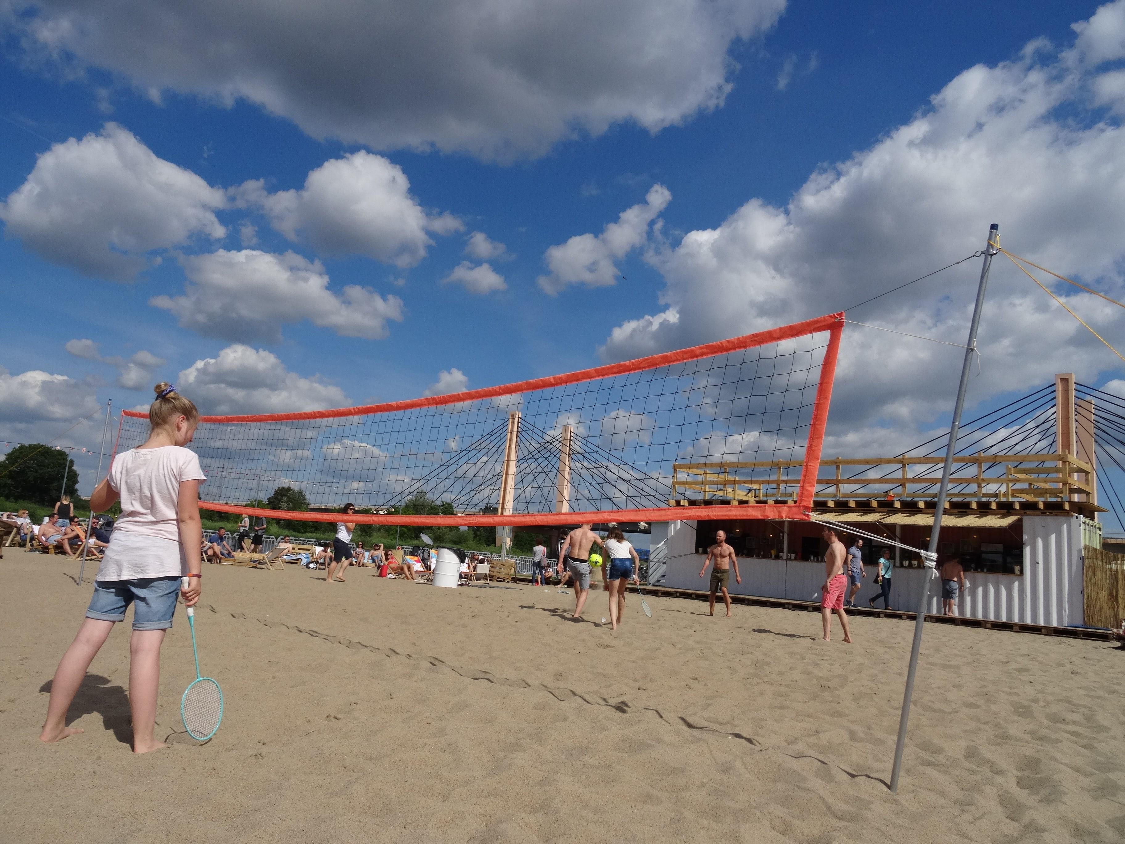 HotSpot Wrocław plaża miejsk boisko do siatkówki