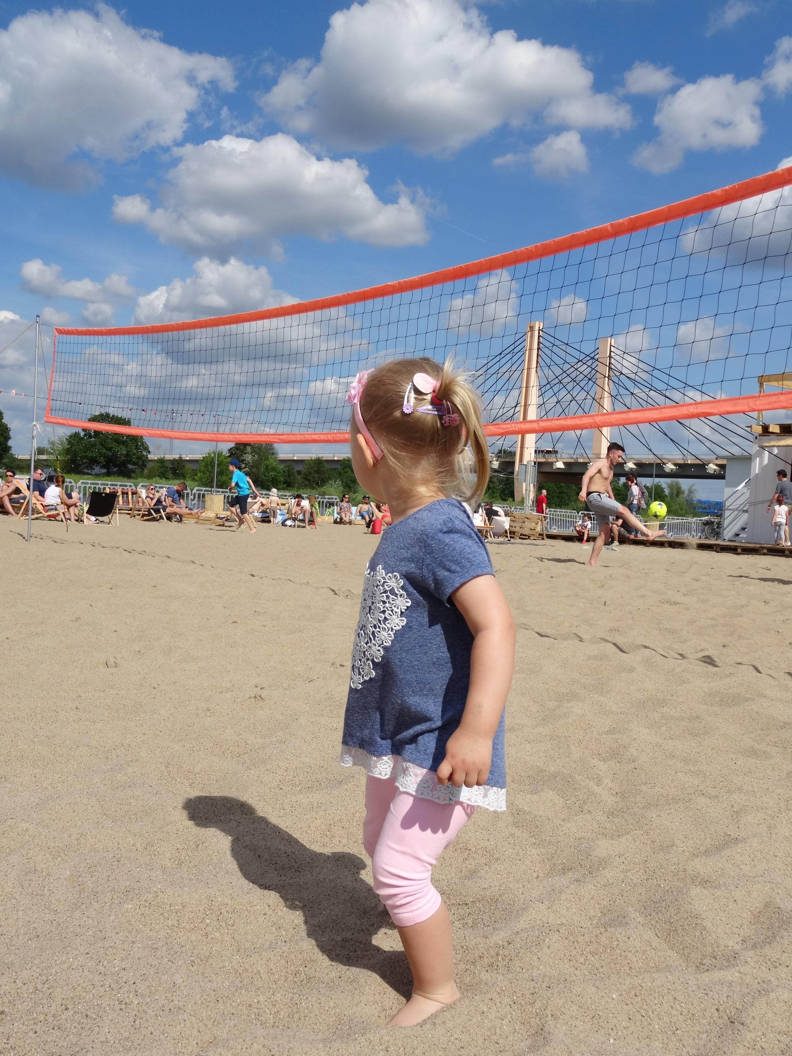 HotSpot Wrocław plaża miejska boisko do siatkówki