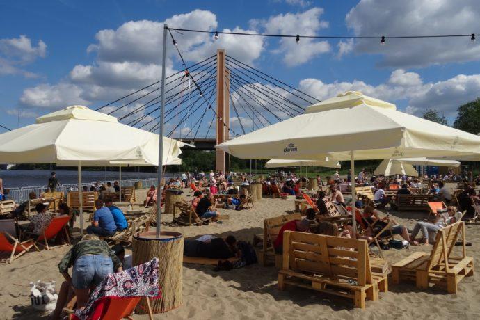 HotSpot Wrocław plaża miejska