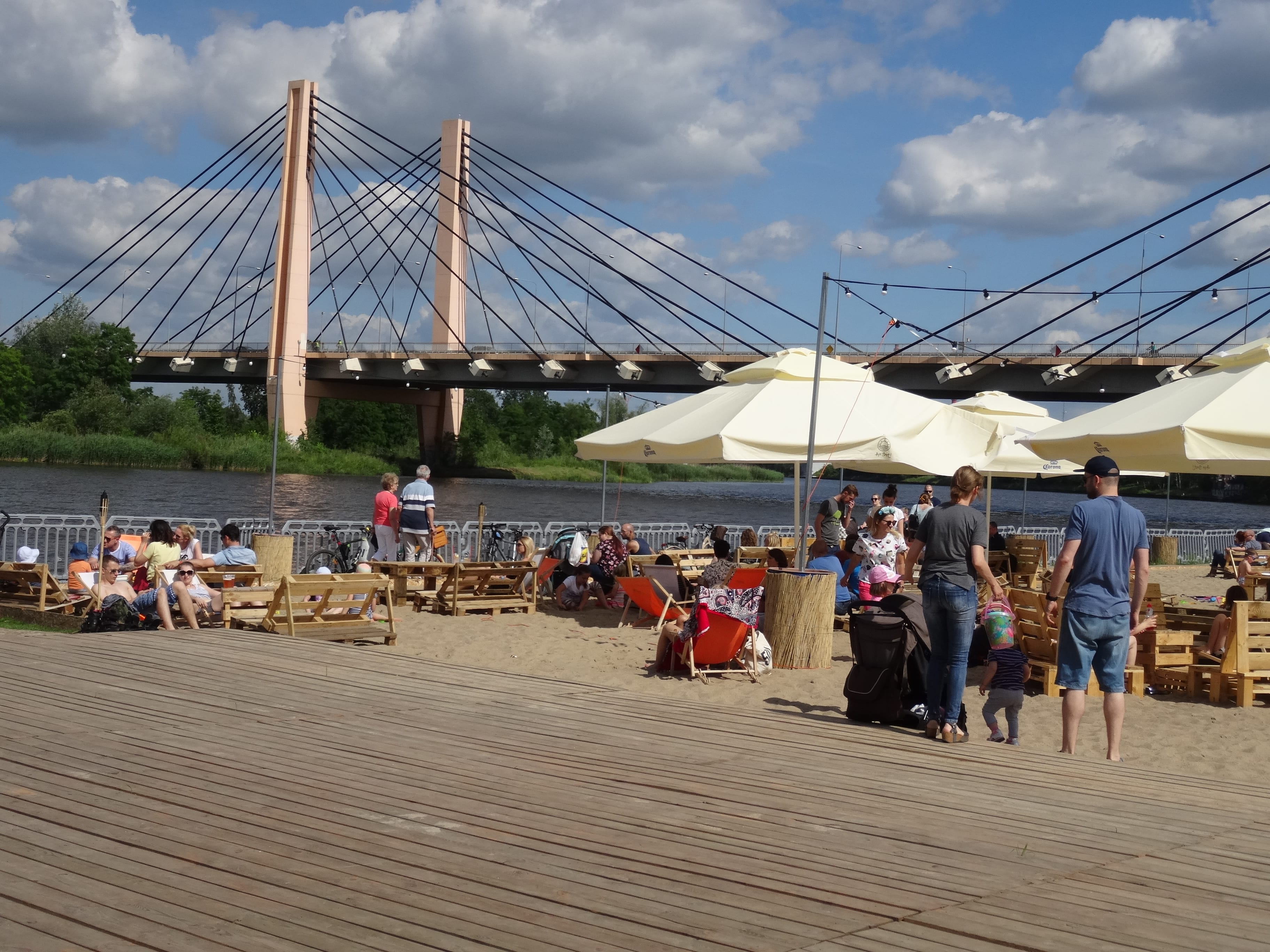 HotSpot Wrocław plaża miejska scena