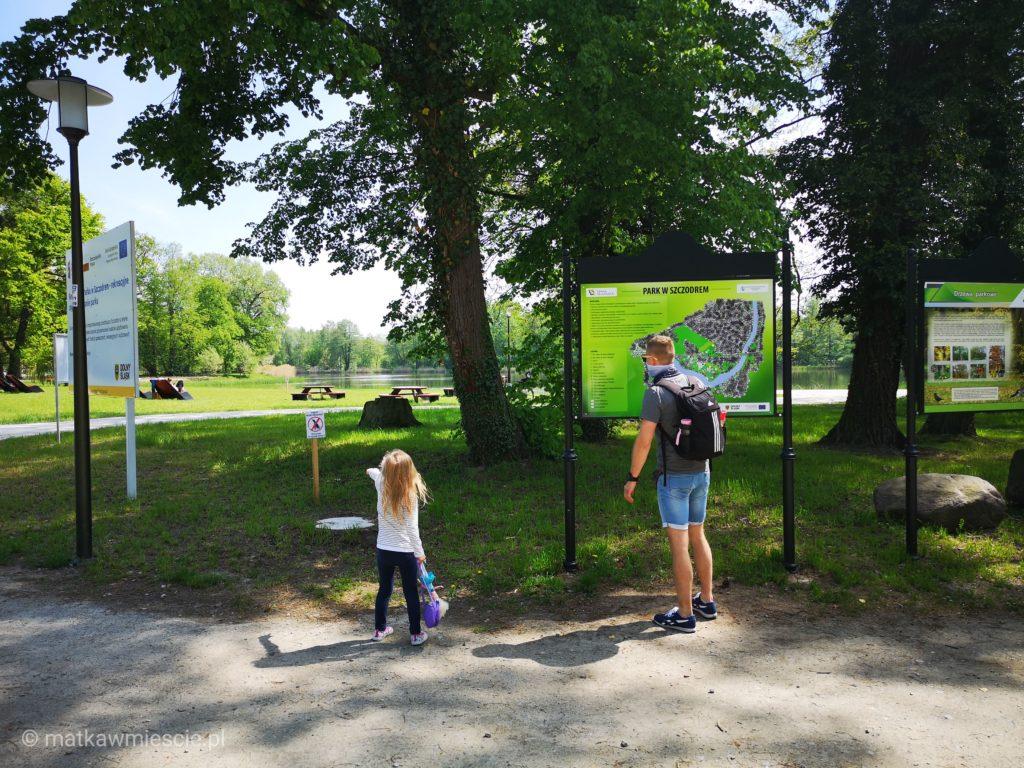 park-szczodre-początek-trasy