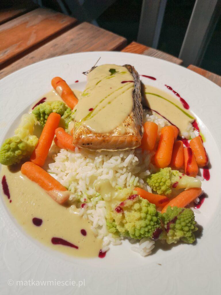 łosoś-ryż-marchewka