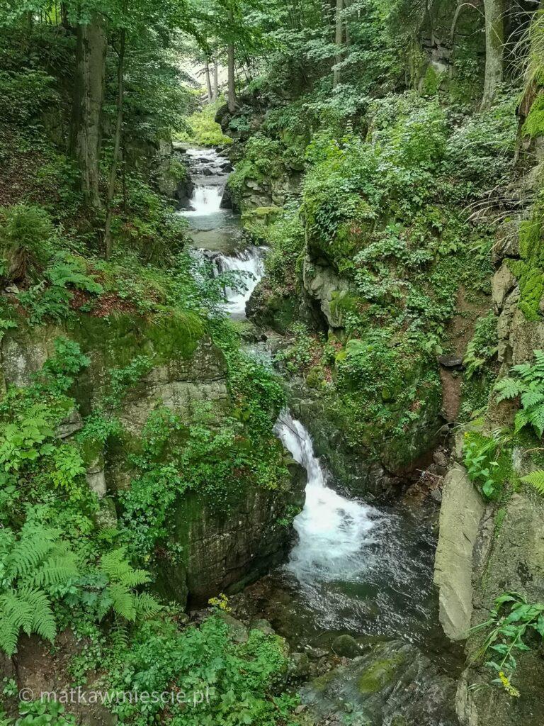 międzygórze-wodospad