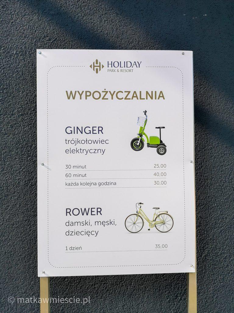 holiday-park-wypożyczalnia-rowerów