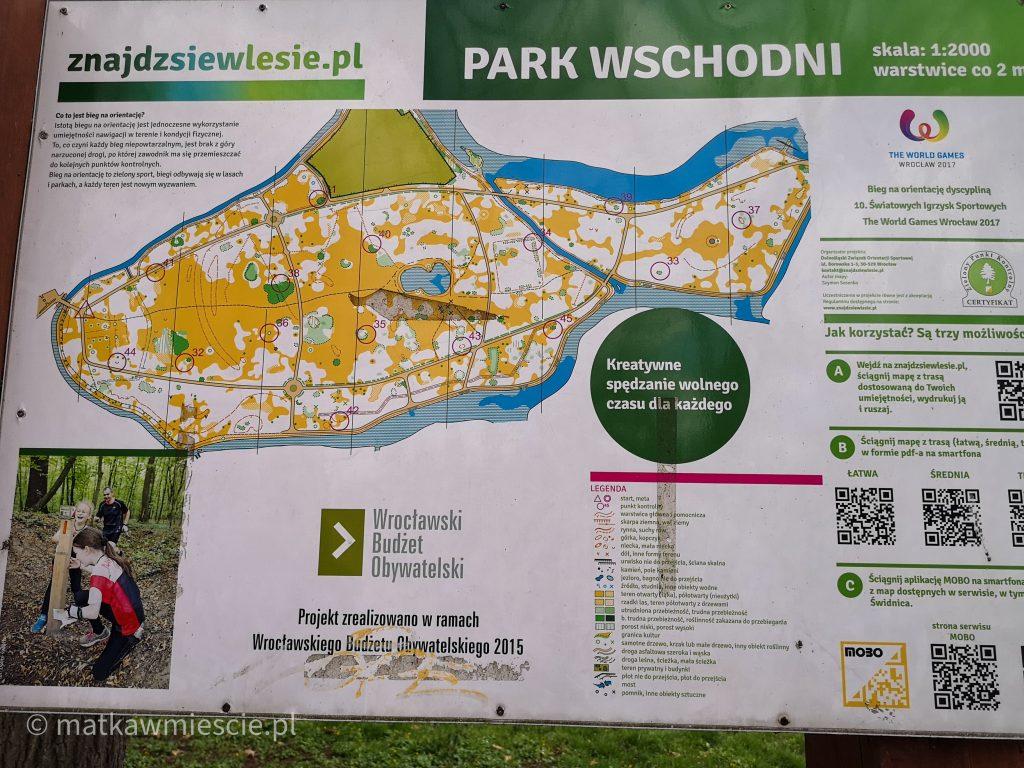 park-wschdni-wrocław-mapa